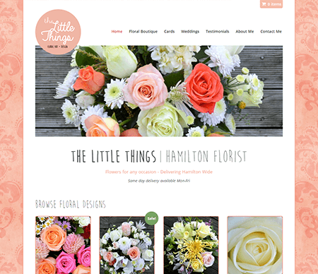 Hamilton Florist - The Little Things